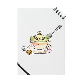 Matcha latte. Notes