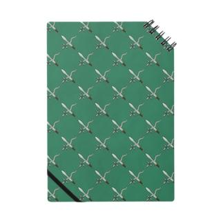 剣カッチン【ひし形】 グリーン Notes