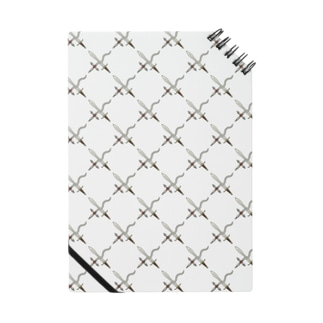 剣カッチン【ひし形】 ホワイトA Notes