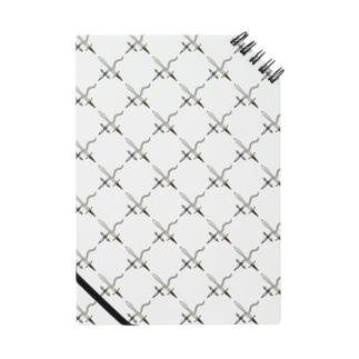 剣カッチン【ひし形】 ホワイトB Notes