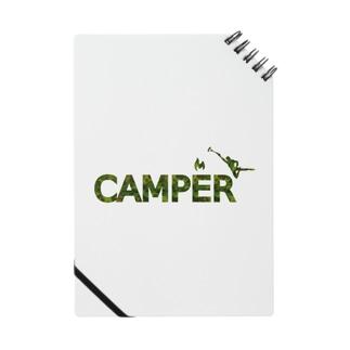 CAMPER 焚き火に向かって Notes