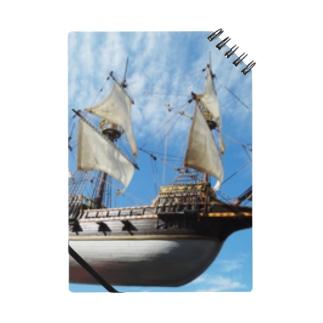船の写真:ガレオン船模型 Model ship of a Galleon Notes