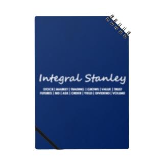 Integral Stanley ネイビー Notebook