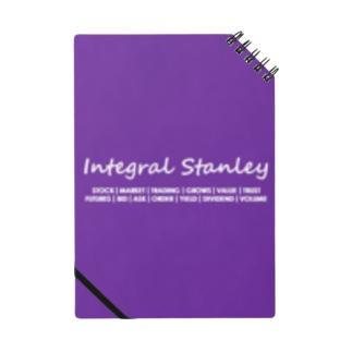 Integral Stanley パープル Notebook