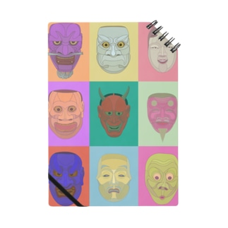 noh mask Notes