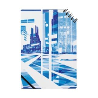 strangecityblue Notebook