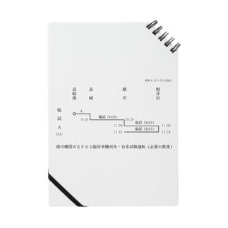 新商品PTオリジナルショップの横川機関区箱ダイヤ(臨時短期列車)(黒) Notes
