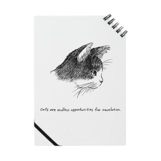 猫(横顔) Notes