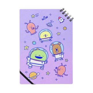 ゆーすけひよこ 宇宙2 Notebook