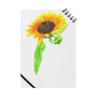 ボタニカル ひまわり Notebook