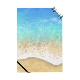 キラキラ水面・ビーチ柄シリーズ2 Notes