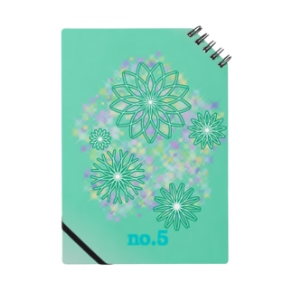 No.5 turquoise Notes