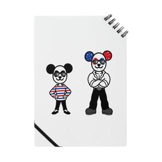 パンダ夫婦のメモっぽいノート ノート