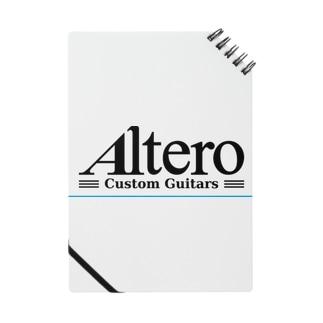 Altero Custom Guitars02(淡色向け) Notes