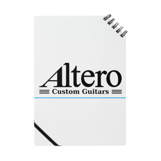 Altero_Custom_GuitarsのAltero Custom Guitars02(淡色向け) Notes