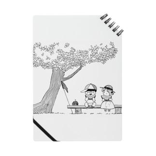 夏のポエムⅡ_スイカ ノート