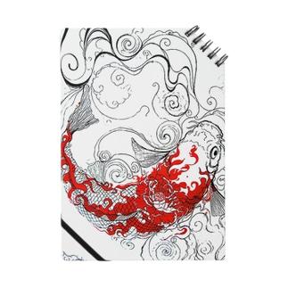 炎鯉(縦) Notes