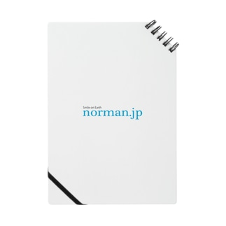 norman.jpロゴシリーズ Notes