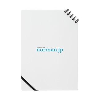 norman.jpロゴシリーズ Notes