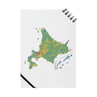 北海道179市町村地図 Notes