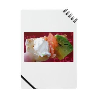 アボカドサーモンクリームチーズカナッペ Notes