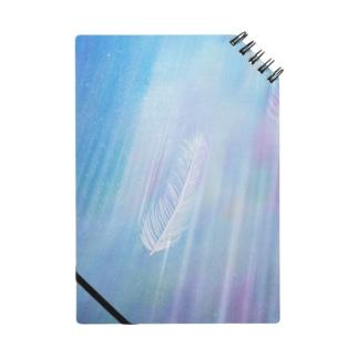 WIngs in flowing Rainbow Notes