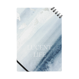 LUCENT LIFEのSumi - Silver leaf Notes