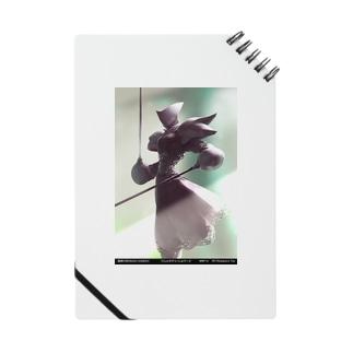 闘技演武【公式グッズ】MWF14断咎のスラッシュロード ノート