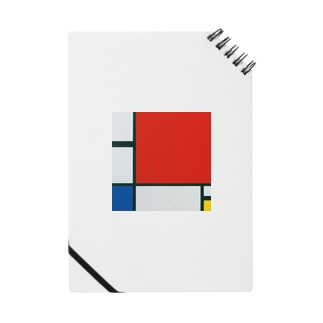 モンドリアン Composition with Red, Blue and Yellow  Piet Mondrian1930 Notes