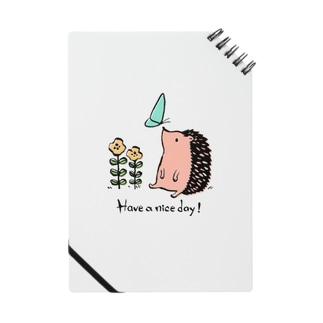 ハリネズミの「良い1日を!」 Notes