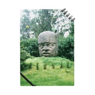 メキシコ:オルメカの巨石人頭像 Mexico: Olmec colossal head Notes