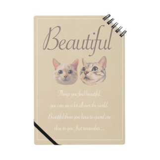 New!!Beautiful×猫 Notes
