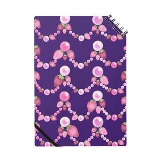 いちごと水晶玉のふんわり紫魔法 Notes