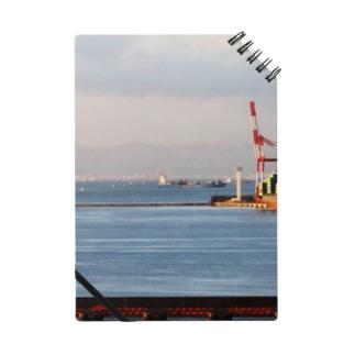 兵庫県:神戸付近の海の風景 Hyogo: view of the sea around Kobe Notes