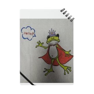 Hello!!  かえるの王子様 Notebook