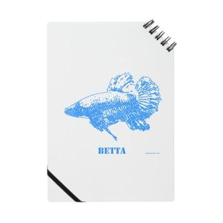 闘魚ベタ ノート