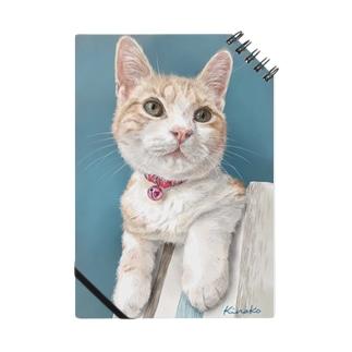 アメリカンショートヘアのボワちゃん猫絵 Notes