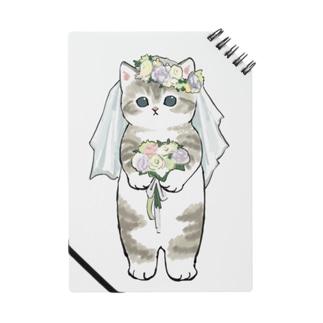 mofusandの花嫁にゃん Notebook