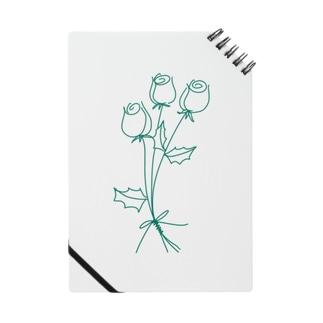 緑のバラ Notes