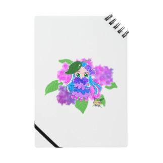 うるめめちゃん紫陽花 Notes