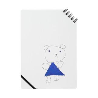 くまちゃん~青いお出かけ服~ Notes