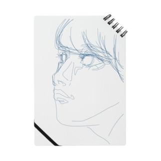 線少女(青) ノート
