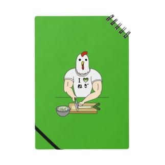 【背景ミドリ】 ひたすらネギを切るニワトリ男 Notes