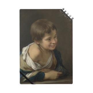 ムリーリョ(スペイン、1617-1682) 《窓枠に身を乗り出した農民の少年》 Notes