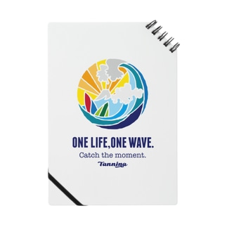 One life, One wave.(カラー) ノート