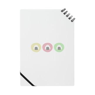 3連おにぎし Notebook