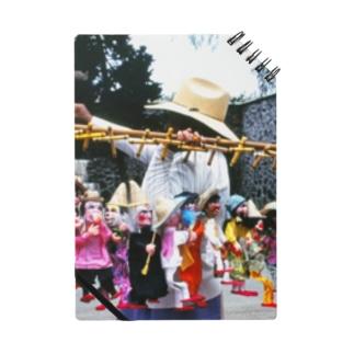 メキシコ:操り人形売りの情景写真 Mexico: Marionettes / puppets Notes