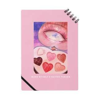 Circlothesのじぶんみがき ピンクパレット(背景色ライトピンク) Notes