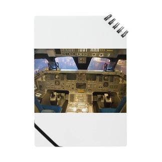 スペースシャトル コクピット Notes