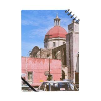 メキシコ:聖母被昇天大聖堂の風景写真 Mexico: view of Catedral de la Asunción de María / : Catedral de Cuernavaca Notes